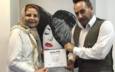 حضور بانوی اول گریم ایران، دکتر مهری شیرازی، در کارگاه آموزشی بابلیس پرو